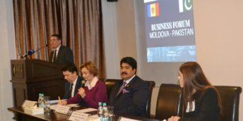 Peste 50 de agenți economici au participat la Forumul de Afaceri Republica Moldova – Pakistan