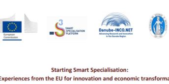 """Atelier de lucru: """"Demararea Specializării Inteligente: Experiențe din UE privind inovarea și transformarea economică"""""""