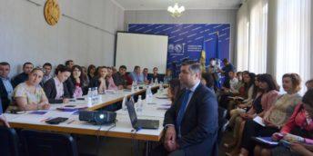 """Peste 60 de agenți economici au participat la seminarul """"Implementarea sistemului E-Achiziţii în Republica Moldova"""" organizat la Chișinău"""