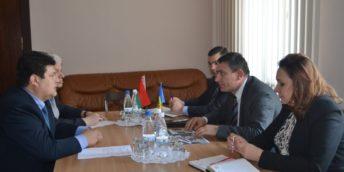 Întrevederea președintelui Camerei de Comerț și Industrie a RM Sergiu Harea cu Excelența Sa Serghei Ciciuk, Ambasador Extraordinar și Plenipotențiar al Republicii Belarus în țara noastră