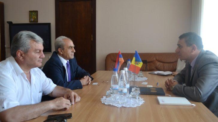 Republica Armenia interesată de cooperarea economică cu țara noastră