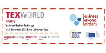 """Texworld 2017, Fabric Fair""- eveniment de brokeraj în afaceri, organizat în Paris, Franța"