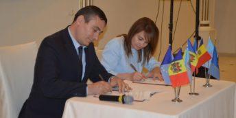 """CCI și ZEL """"Ungheni-Business"""" au semnat un Memorandum de cooperare"""