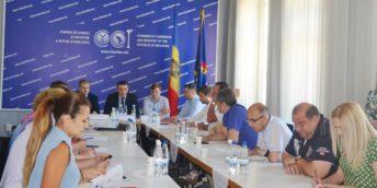 Reprezentanții Ministerului Economiei și BERD au participat la Ședința Comună a Comitetelor Sectoriale de pe lângă CCI