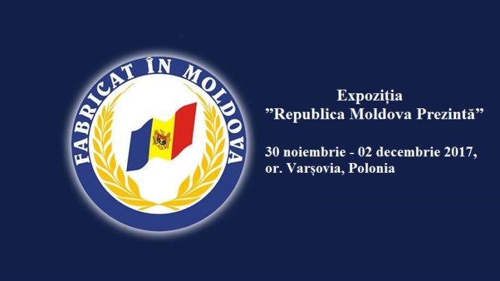 """Expoziția """"Republica Moldova Prezintă"""" cucerește piața din Varșovia, Polonia"""