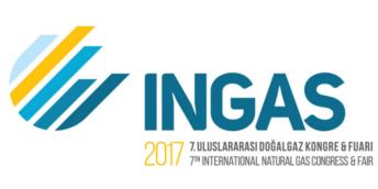 Выставкa по природному газу – INGAS 2017, в Стамбуле, Турция