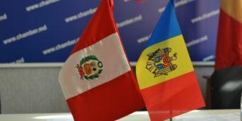 Circa 20 de companii au participat la Forumul de afaceri Moldova – Peru organizat la CCI a RM