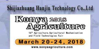 Выставкa Сельского хозяйства и Сельскохозяйственной техники Konya Agriculture 2018