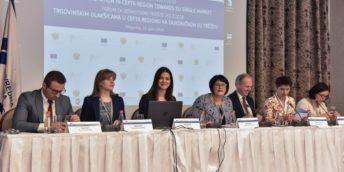 """CCI a RM a participat la Conferința regională """"Facilitarea Comerțului în Regiunea CEFTA"""", desfășurată la Podgorica, Muntenegro"""