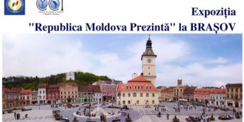 «Республика Молдова Представляет» в Румынии, на площади Совета в г. Брашов