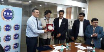 CCI a RM a semnat un Memorandum de Colaborare cu Camera din New Delhi