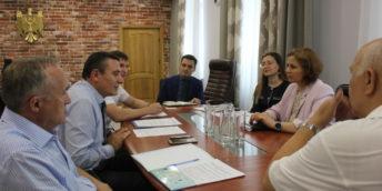 Conducerea CCI a RM a avut o întrevedere cu Ministrul Justiției