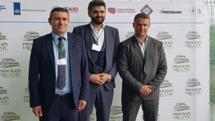 """Membrul CCI a RM- """"Prograin Organic"""" a dat în exploatare Terminalul Cerealier din  cadrul Zonei Economice Libere a Portului Internațional Giurgiulești"""