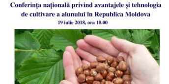 Conferința națională privind avantajele și tehnologia de cultivare a alunului în Republica Moldova