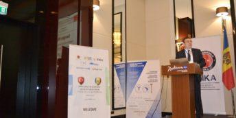 """Peste 120 de agenți economici din Republica Moldova și Turcia au participat la Simpozionul """"Noi orizonturi în ameliorarea cooperării economice între Turcia și Moldova"""""""