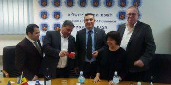 Noi perspective de colaborare dintre CCI a R. Moldova și CCI din Ierusalim, discutate în cadrul unei întrevederi
