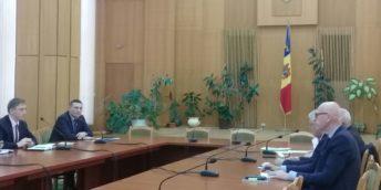 Președintele Camerei de Comerț și Industrie a avut o întrevedere cu reprezentanții FMI, la Chișinău