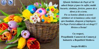 Vă dorim un Paște fericit alături de cei dragi!!!