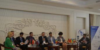 """În premieră, la Bălți s-a desfășurat Forumul Internațional de Afaceri """"Investiții și oportunități de colaborare"""" la care au participat cca 300 de agenți economici"""