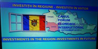 La Cahul va fi organizat un Forum Economic Internațional