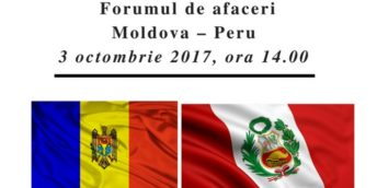 Forumul de afaceri Moldova – Peru