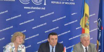 Peste 45 de agenți economici au participat la Forumul de afaceri Moldova-Belarus, organizat la Chișinău