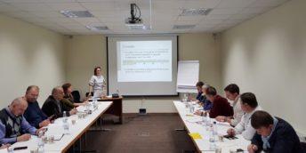 """17 experți-evaluatori  au participat la seminarul """"Evaluarea utilajelor și mijloacelor de transport"""" organizat la CCI a RM"""
