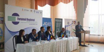 Potențialul de promovare al mediului de afaceri autohton, prin intermediul CCI a RM prezentat în cadrul unui Forum Regional, la Ungheni