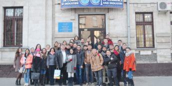 """Circa 90 de studenți au participat la """"Ziua Uşilor Deschise"""" la CCI a RM"""