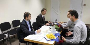 """36 de candidați au participat la un interviu pentru programul """"Fit for partnership with Germany"""""""