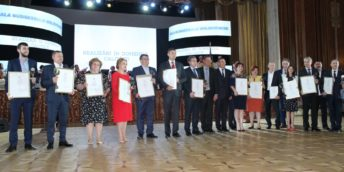 Câștigătorii Concursului  PREMIUL PENTRU REALIZĂRI ÎN DOMENIUL CALITĂŢII PRODUSELOR ŞI SERVICIILOR în anul 2017