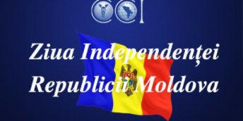 """CCI a RM Vă dorește pace și bunăstare cu ocazia sărbătorilor naționale- """"Ziua Independenței"""" și """"Limba Noastră""""!"""