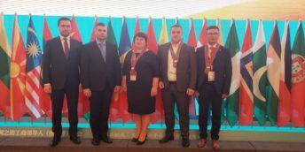 O delegație din țara noastră participă la Summit-ul  de afaceri privind dezvoltarea comerțului, în China