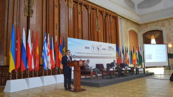 Peste 450 de persoane au participat la ceremonia celebrării a 100 de ani de la fondarea Camerei de Comerț și Industrie din Chișinău și 25 de ani de la crearea Curții de Arbitraj Comercial Internațional de pe lângă CCI a RM