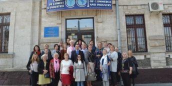 30 de femei din cadrul Asociației Femeilor Profesioniste și de Afaceri din Estonia au vizitat CCI  a RM