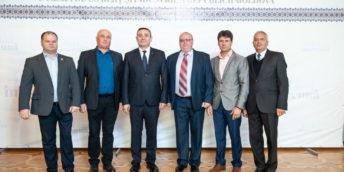 Fotografii de la ceremonia celebrării a 100 de ani de la fondarea Camerei de Comerț și Industrie din Chișinău și 25 de ani de la crearea Curții de Arbitraj Comercial Internațional de pe lângă CCI a RM