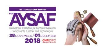 Expoziţia Internaţională de Materie Primă, Componente, Piele și Tehnologii pentru Industria Încălţămintei AYSAF 2018