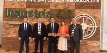 CCI a RM a participat la Conferința Internațională a IMM-urilor, 2018