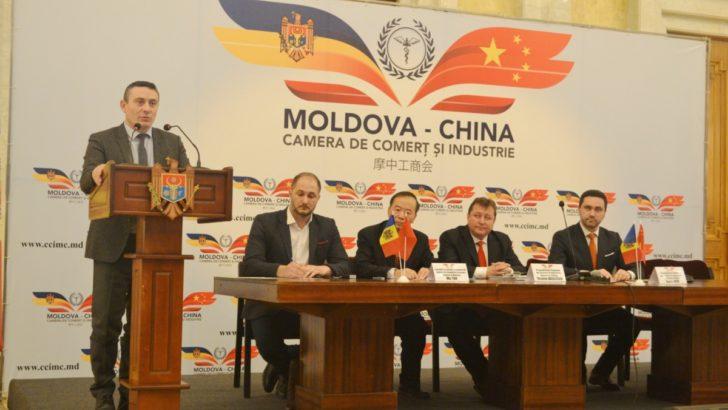 A fost lansată Camera bilaterală de Comerț și Industrie Republica Moldova-China