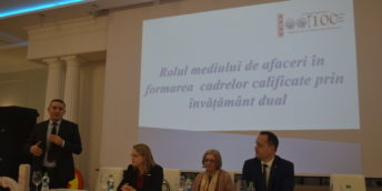 """Evenimentul de totalizare a rezultatelor Proiectului ,,Reforma Structurală în Învățământul Profesional Tehnic în Republica Moldova"""""""