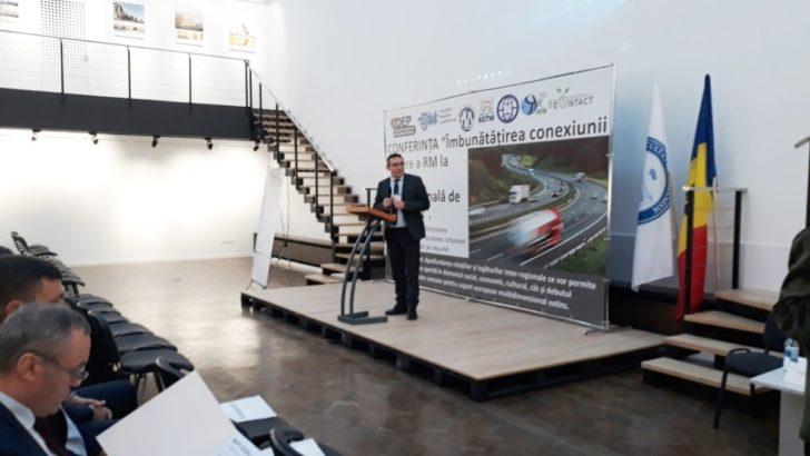 """CCI a RM a participat la Conferința: """"Îmbunătățirea conexiunii rutiere a RM la rețeaua internațională de transport"""""""