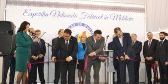"""Deschiderea oficială a Expoziției naționale """"FABRICAT ÎN MOLDOVA"""" 2019"""