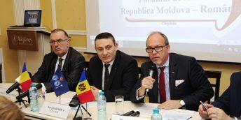 La Chișinău s-a desfășurat Forumul de afaceri Republica Moldova – România