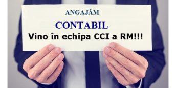 CCI a RM angajează Contabil