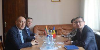 Președintele CCI a RM a avut o întrevedere cu Ambasadorul Republicii Lituania în Republica Moldova