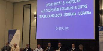 A avut loc cea de –a treia ediție a Forumului de Afaceri Trilateral Republica Moldova – România – Ucraina