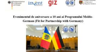 Evenimentul de aniversare a 10 ani ai Programului Moldo-German (Fit for Partnership with Germany)