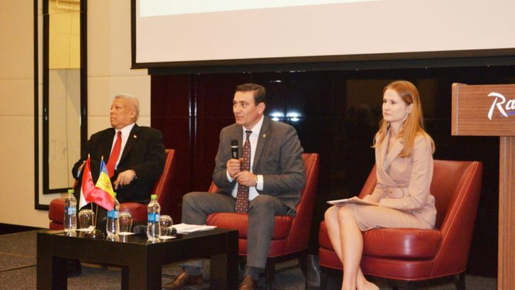 """Peste 80 de antreprenori s-au reunit la forumul de afaceri """"Fortificarea relațiilor economice dintre Indonezia și Republica Moldova"""""""
