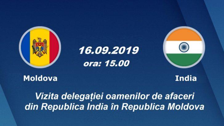CCI a RM invită mediul de afaceri la o întâlnire cu antreprenorii din Republica India