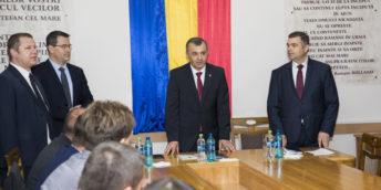Peste 60 de antreprenori s-au întâlnit cu Prim-ministrul, la Orhei